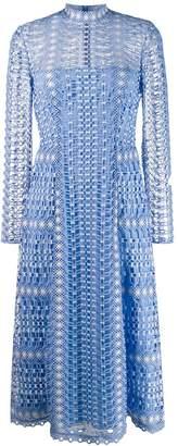 Temperley London crochet midi dress