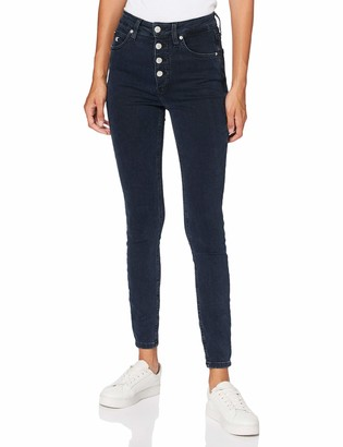 Calvin Klein Jeans Women's HIGH Rise Super Skinny Ankle Pants