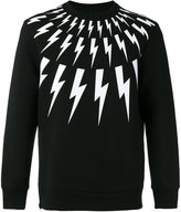 Neil Barrett lightning sweatshirt