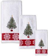 Bed Bath & Beyond Traditional Tree Fingertip Towel