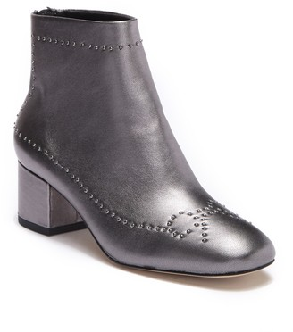 Donald J Pliner Cafne Bow Studded Leather Bootie