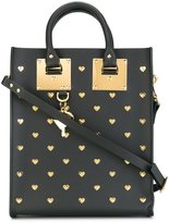 Sophie Hulme gold-tone studded shopping bag