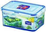 Lock & Lock Rectangular Storage Container - Clear/Blue, 1.1 L