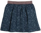 Nice Things Star Printed Viscose Twill Skirt