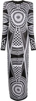 Balmain graphic print dress