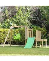 Fashion World TP Forest Toddler Wooden Swing & Slide