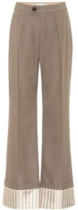 Chloé Virgin wool wide-leg pants