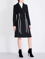 Sportmax Ornel wool and cashmere-blend coat