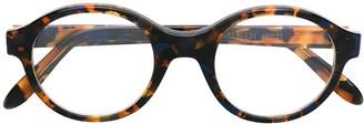 Emmanuelle Khanh round frame glasses