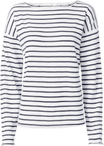 Rag & Bone Dakota Striped Long-Sleeved Tee