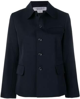 Comme des Garcons short button jacket