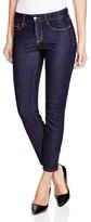 NYDJ Clarissa Skinny Ankle Jeans in Dark Enzyme