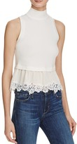 Rebecca Taylor Terry Lace Top