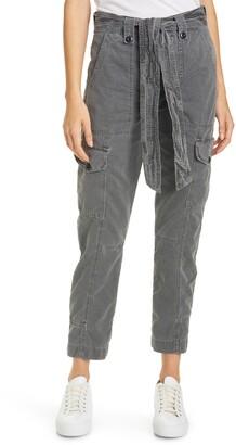 NSF Sash Belt Cotton Cargo Pants