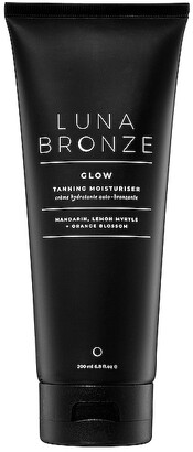 Luna Bronze Glow Tanning Moisturizer.