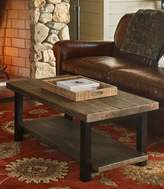 L.L. Bean Rough Pine Coffee Table