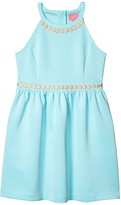 Lilly Pulitzer Evelyn Dress (Toddler/Little Kids/Big Kids) (Blue Ibiza) Girl's Clothing