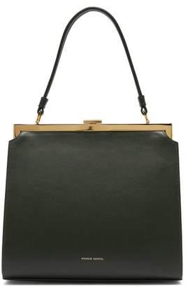 Mansur Gavriel Elegant Leather Bag - Womens - Dark Green