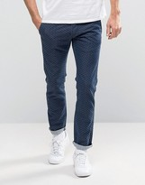 Edwin 55 Japanese Dot Relaxed Chinos