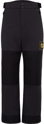 Fendi Logo Patch Panelled Ski Trousers
