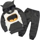 Astage Little Kids' Long Sleeve Cartoon Batman Hoodies Sport Clothing Unders 1 Years