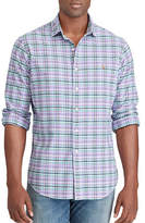 Polo Ralph Lauren Big and Tall Classic-Fit Plaid Oxford Shirt