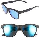Oakley Women's Moonlighter 53Mm Polarized Sunglasses - Black/ Sapphire Iridium P