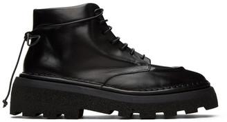Marsèll Black Dentolone Boots
