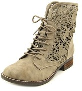 Not Rated Jakobe Women Round Toe Synthetic Ankle Boot.