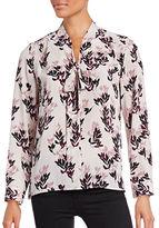 Vince Camuto Floral Print Woven Blouse