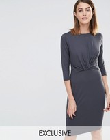 Whistles Ferrie Twist Front Dress (Exclusive)
