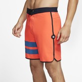 "Nike Men's 18"" Board Shorts Hurley Phantom Block Party"