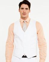 Le Château Linen Contemporary Fit Vest
