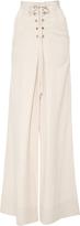 Ulla Johnson Rix High Waist Lace Up Trousers
