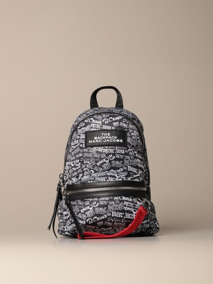 Marc Jacobs Backpack In Logoed Nylon