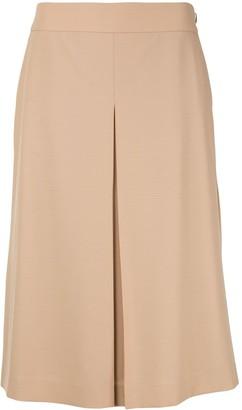 Agnona A-line midi skirt