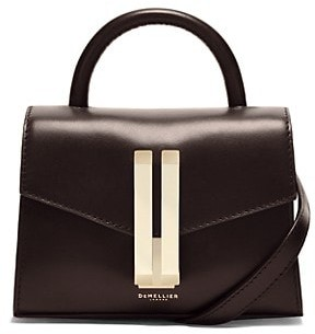 DeMellier Nano Montreal Leather Satchel
