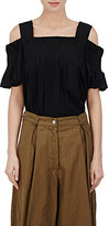 Dries Van Noten Women's Cataldi Matte Taffeta Top