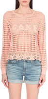Wildfox Couture Cake crochet-knit jumper