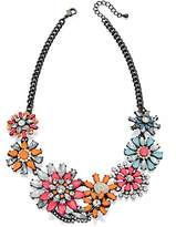 Fiorelli Costume Women's Statement Flower Necklace of 45-51cm