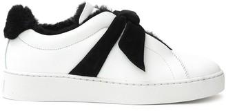Alexandre Birman Shearling-Trimmed Sneakers