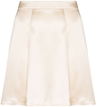 Reformation Demie flared mini skirt