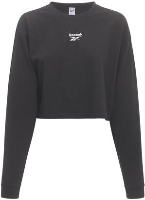 Reebok Classics Cl F V Long Sleeve Cotton T-shirt