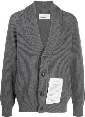 Ballantyne Button-Up Cashmere Cardigan