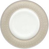 Monique Lhuillier Waterford Dinnerware, Etoile Platinum Tan Accent Plate