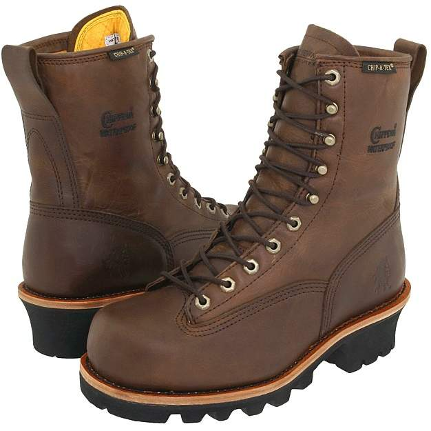 Chippewa 8 Bay Apache Insulated Waterproof Steel Toe Logger Men's Work Boots