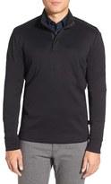 BOSS Men's Sidney Quarter Zip Pullover