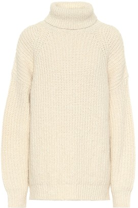 Etoile Isabel Marant Tonya cotton-blend turtleneck sweater