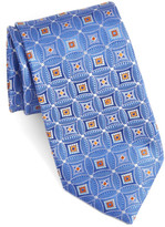 John W. Nordstrom Strode Medallion Woven Silk Tie