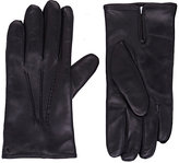 Barneys New York MEN'S LEATHER GLOVES-BLACK SIZE 8